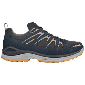 Lowa Innox Evo GTX Chaussures à tige basse Femme, steel blue/mandarin